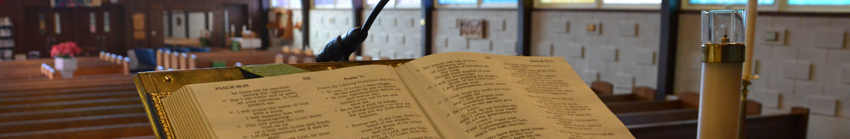 What is a lectionary